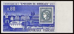 France N°1659 Centenaire De La Ceres De Bordeaux Non Dentelé ** MNH (Imperforate) - Non Dentellati