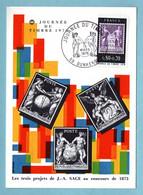 Carte Maximum 1976 - Journée Du Timbre 1976 - Centenaire Du Type Sage - YT 1870 - 59 Dunkerque - 1970-79