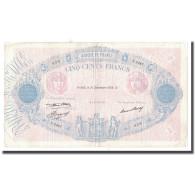 France, 500 Francs, 1936, 1936-12-31, TB+, Fayette:30.37, KM:66m - 500 F 1940-1944 ''La Paix''