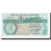 Billet, Guernsey, 1 Pound, KM:48a, NEUF - Guernsey