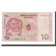 Billet, Congo Democratic Republic, 10 Centimes, 1997, 1997-11-01, KM:82a, TB - Republik Kongo (Kongo-Brazzaville)