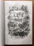 Jules JANIN : Un été à Paris, 1843, Illustrations D'Eugène LAMI. - 1801-1900