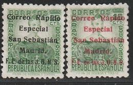 1936. * Edifil: E.L.P. SAN SEBASTIAN 19/20 - Emissioni Nazionaliste