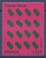 N° 3916 Claude Viallat Valeur Faciale 1,22 € - Ungebraucht