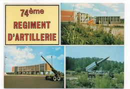 90 - BELFORT - 74e Régiment D'Artillerie - Multi-vues  (A194) - Casernas