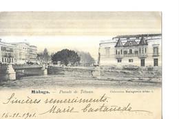 MALAGA   PUENTE DE TETUAN   TIRAGE 1900 - Sonstige