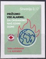 SLOVENIA  2020,RED CROSS,SURCHARGE,ADITIONAL STAMP, ADHESIV,SOLIDARITY WEEK,ADHESIV,MNH - Slovenia