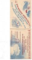 """Carnet Pour  Vignettes """"contre La Tuberculose"""" Campagne 1939   """" Espoir  """"    Vide   Le Moins Cher Du Site ! ! ! - Tegen Tuberculose"""