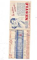 """Carnet Avec 4  Vignettes Neufs * * """"contre La Tuberculose"""" Année 1935  """"Prévenir Pour Vivre"""" Le Moins Cher Du Site ! ! ! - Tegen Tuberculose"""