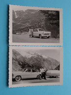Oude Auto's / Old Cars / Vieilles Voitures ( Te Identificeren ) Anno 19?? ( Details Zie Foto's ) 11,5 X 8 Cm. ( 2 X ) ! - Automobile