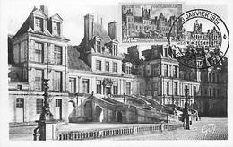 FONTAINEBLEAU Le Palais  YT 878 20 Janvier 1951  Carte Maximum Card CM - 1950-59