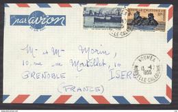 0le  003  -  Nouvelle Calédonie   :  Yv  271+274  (o) Sur Lettre Avion - Storia Postale