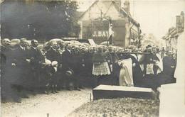 CARTE PHOTO (à Localiser)  - Procession Inauguration Dans L'orne? - Zu Identifizieren