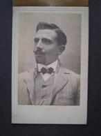 GRANDE PHOTO MARIUS GROC - CASTEL CHABRE - TOULON Ancienne : PORTRAIT HOMME - Anonymous Persons