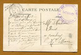 """ 51ème REGIMENT TERRITORIAL D'INF. - COMPAGNIE AGRICOLE ""  (1915) - WW I"
