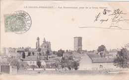 37 – LE GRAND PRESSIGNY – Vue Panoramique Prise De La Croix Marron - Le Grand-Pressigny
