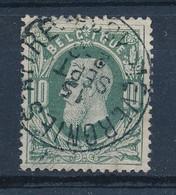 "Nr 30 - Cachet  ""MEVERGNIES-ATTRE"" - (ref. ST-1430) - 1869-1883 Leopold II."