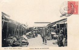 Tonkin - Vue Au Marché D'Haïphong - Viêt-Nam
