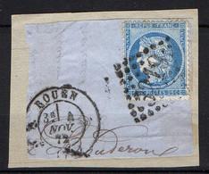 FRANCE ( OBLITERATION LOSANGE ) : GC  3219   Rouen  Seine-Inférieure (74) , A  SAISIR . Fra - 1849-1876: Période Classique