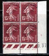 France Preo 1922 Yvert 53b ** TB Coin Date - Prematasellados