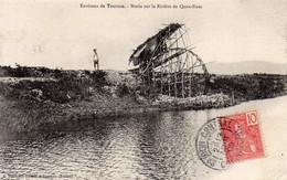 Annam - Tourane - Noria Sur La Rivière De Quan Nam En 1905 - Viêt-Nam