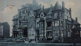 DE PANNE Villas Dijk LA PANNE Maisons Digue BELGIUM Houses On The Dike Cachet Censure Militaire 1917 - De Panne