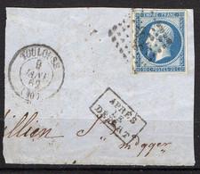 FRANCE ( OBLITERATION LOSANGE ) : PC  3383    Toulouse  Haute-Garonne (30)  , A  SAISIR . Fra - 1849-1876: Période Classique