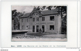 63 - OLBY- Mairie Et Bureau De Poste - Otros Municipios