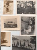 Corfou  (Grèce) Lot De 6 Photos Légendées Au Verso... Voyage De 1937 (PPP26465) - Places