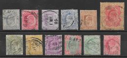 Inde Britannique Entre/between N°57 & 75 1902-06 O - 1902-11 Koning Edward VII