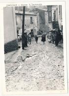 1961 AVELLINO RIONE S LEONARDO FOTOGRAFIA ALLUVIONE 18-19 OTTOBRE CM 13X18 ALCUNI FORELLINI D'ARCHIVIO - Plaatsen