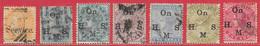 Inde Britannique Service N°20, 24, 30 à/to 33, 37 1867-1900 O - Ohne Zuordnung