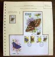 54063 Irlande (Eire) Maximum Fdc Papillons Papillon Schmetterlinge Butterfly Butterflies Neufs ** MNH - Papillons