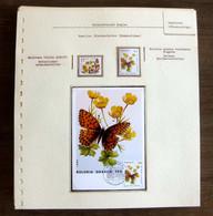 54064 Monaco Maximum Papillons Papillon Schmetterlinge Butterfly Butterflies Neufs ** MNH - Papillons