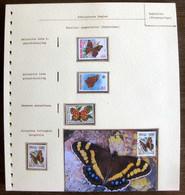 54214 Venda Maximum Seychelles Sierra Leone Papillons Schmetterlinge Butterfly Butterflies Neufs ** MNH - Papillons