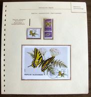 54375 Israel Tabs Monaco Maximum 1963 1984 Papillons Papillon Schmetterlinge Butterfly Butterflies Neufs ** MNH - Papillons