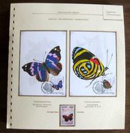 54692 Cambodge Cambodia Hongrie Hungary Maximum Papillons Papillon Schmetterlinge Butterfly Butterflies Neufs ** MNH - Papillons