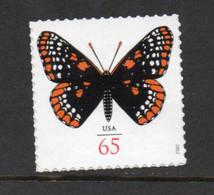 USA Scott # 4603     2012  65c Butterfly - Baltimore Checkerspot    Mint NH  (MNH) - Nuevos