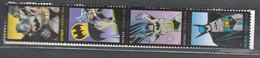 USA Scott #  4932 - 4935   2014  49c  Batman  Strip Of 4             Mint NH  (MNH) - Nuevos