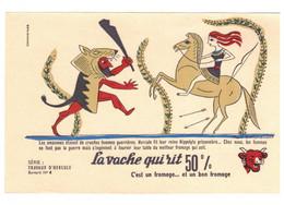 Buvard La Vache Qui Rit Série Travaux D'Hercule N°4 ... Les Amazones étaient De Cruelles Femmes Guerrières .. En TB.Etat - T