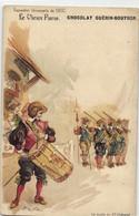 R  ROBIDA  LE VIEUX PARIS CHOCOLAT GUERIN BOUTRON --la Poste Du Grand Chatelet - Robida