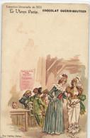 R  ROBIDA  LE VIEUX PARIS CHOCOLAT GUERIN BOUTRON --  Aux Vieilles Halles - Robida