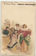 R  ROBIDA  LE VIEUX PARIS CHOCOLAT GUERIN BOUTRON --  Au Palais - Robida