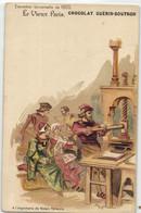 R  ROBIDA  LE VIEUX PARIS CHOCOLAT GUERIN BOUTRON --  A L'imprimerie De Robert Etienne - Robida
