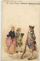 R  ROBIDA  LE VIEUX PARIS CHOCOLAT GUERIN BOUTRON --  A La Foire Saint Laurent - Robida