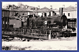PHOTO ORIGINALE - Locomotive 130 B 476 - Rotonde De LONGUEVILLE (77) - Photo POGGI - Octobre 1971 - Eisenbahnen
