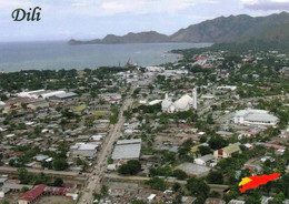 1 AK Osttimor / Timor Leste / East Timor * Blick Auf Dili - Die Hauptstadt Von Osttimor - Luftbildaufnahme * - East Timor