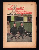 Hergé - Tintin -Le Petit Vingtième N° 16 Du 22/04/1937 - E.O. - Les Nouvelles Aventures De TINTIN Et MILOU - Kuifje