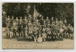 33 ST SAINT MEDARD En JALLES Rare CARTE PHOTO Ecole De Musique 2em Groupe Fandare Musicale Adultes Et Enfant  /D22-S2018 - Altri Comuni