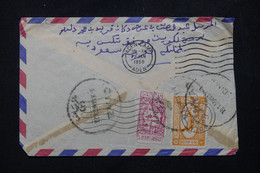 ARABIE SAOUDITE - Enveloppe Pour Aden En 1959, Affranchissement Au Verso - L 81621 - Arabie Saoudite